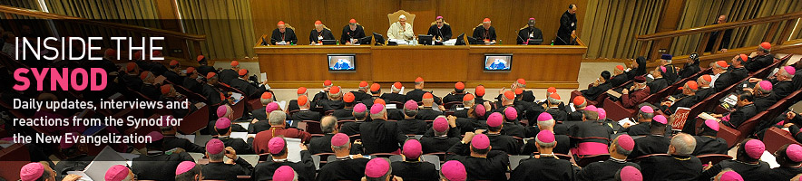 Inside the Synod for the New Evangelization